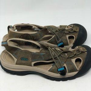 Keen Venice brown Leather sport sandals
